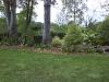Massif et pelouse